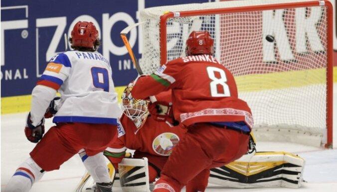 ВИДЕО: Сборная России разгромила белорусов, Малкин прервал безголевую серию