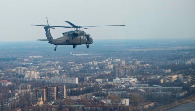 Спецназ Латвии и США будет отрабатывать десант с вертолетов над Даугавой
