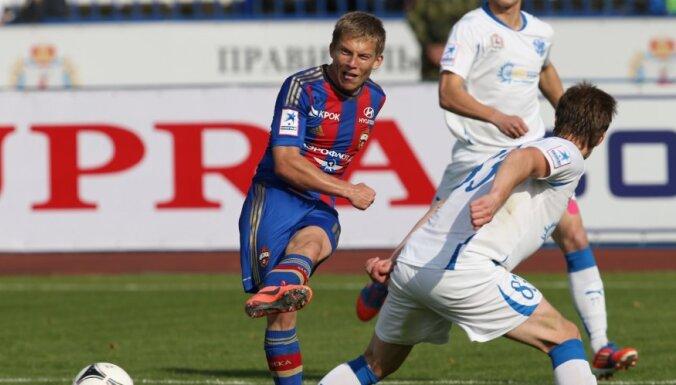 Удаление Цауни сломало игру ЦСКА в Махачкале