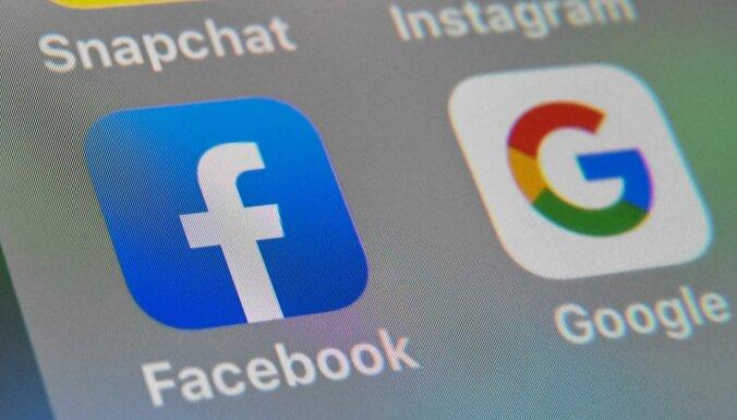 ASV regulatori ar prasībām tiesā pret 'Facebook' vēlas panākt 'Instagram' un 'WhatsApp' pārdošanu