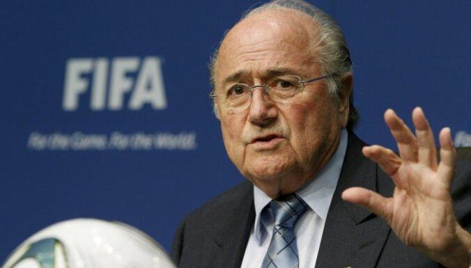 FIFA prezidents Blaters: traģēdija Ēģiptē ir 'melnā diena futbolam'