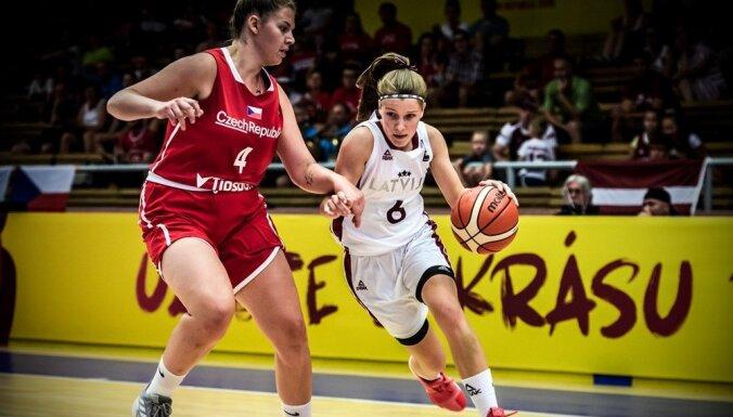 Latvijas U-20 basketbolistes Eiropas čempionātu noslēdz desmitajā vietā
