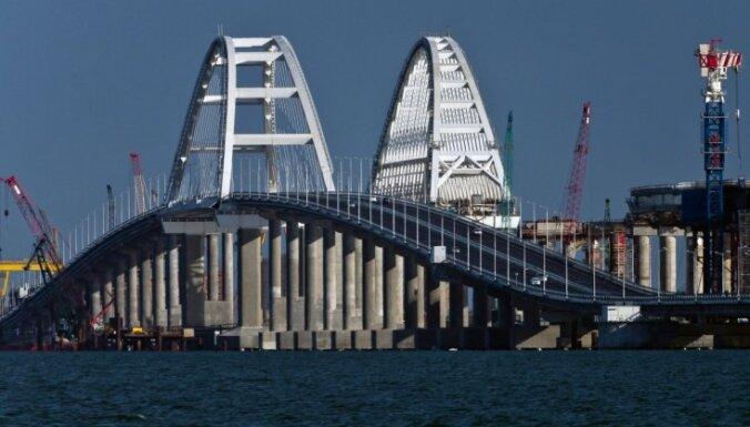 Лондон ввел санкции против строителей Крымского моста