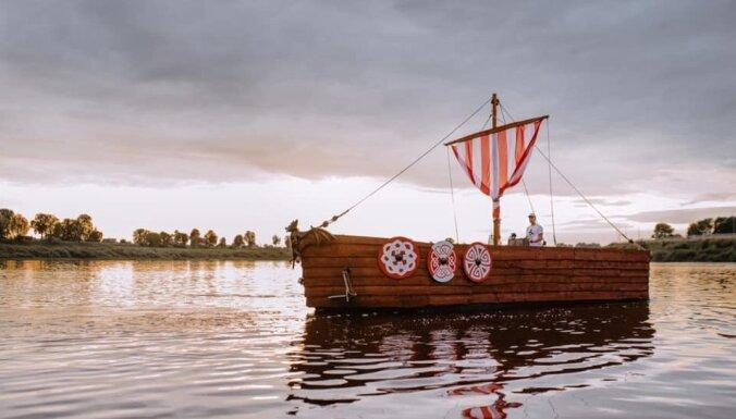 Jauns izklaides tūrisma piedāvājums Daugavpilī – kuģītis 'Sikspārnis'