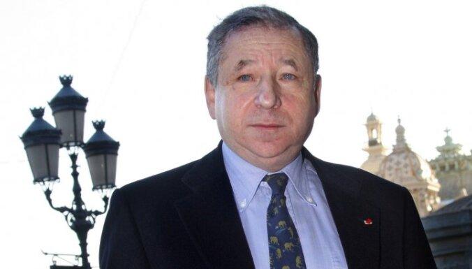 Tods varētu saglabāt FIA prezidenta amatu uz vēl vienu termiņu