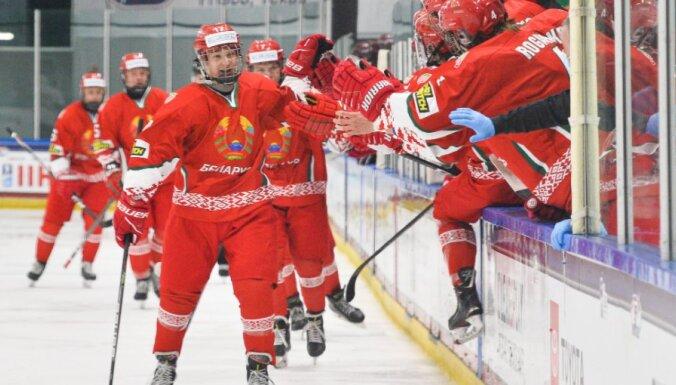 Сборная Латвии U-18 пропустила шесть шайб от белорусов на ЧМ-2021