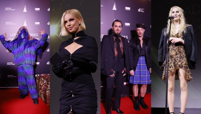 Foto: Rīgas stilīgākā publika satiekas Modes gada balvā