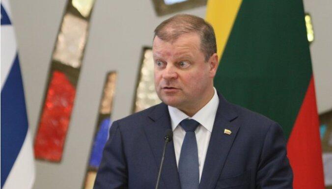 Премьер-министр Литвы: в пасхальные выходные будет ограничен въезд во все города страны