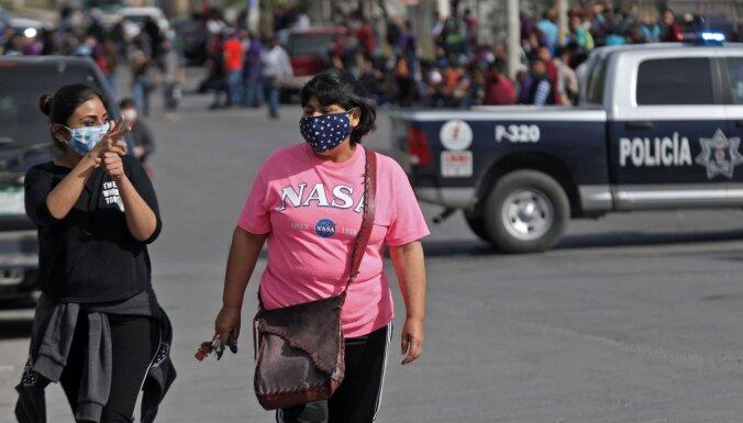 Covid-19: Meksikā mirušo skaits pārsniedz 35 000