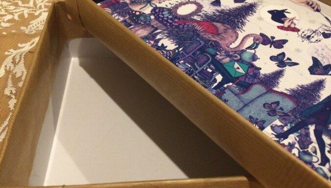 Soli pa solim: kurpju kastes pārvērtības glītā dāvanu kastē