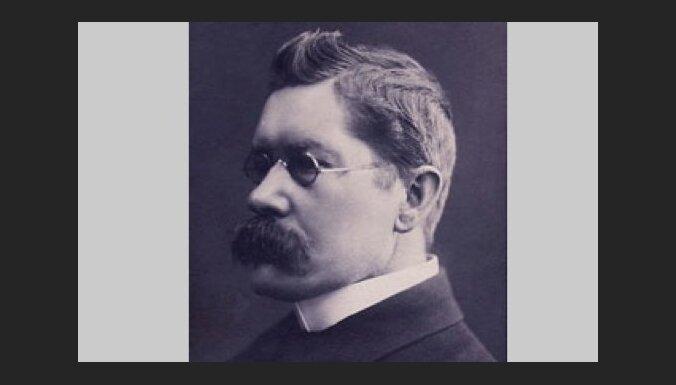 Arhīva foto: 1. janvāra jubilārs – dramaturgs un prozaiķis Rūdolfs Blaumanis