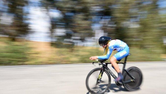 Latviju pirmajās Eiropas spēlēs pārstāvēs arī riteņbraucējs Skujiņš