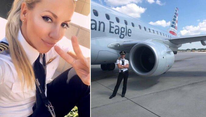 Невероятная история успеха: как эстонская модель стала сначала стюардессой в Бахрейне, а потом пилотом самолета в США