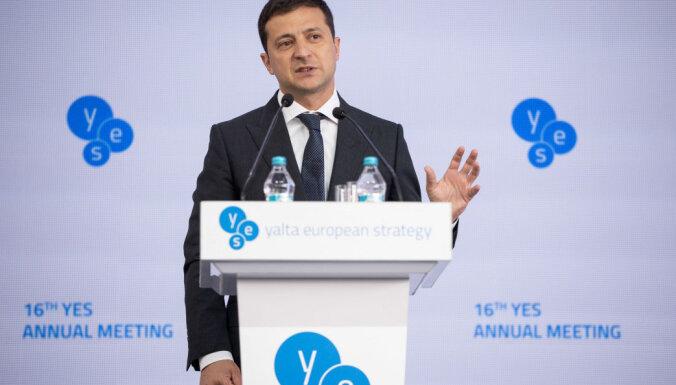 Зеленский намерен завершить конфликт в Донбассе мирным путем
