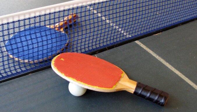 Video: Liepājas galda tenisisti lepni par piedalīšanos olimpiādē