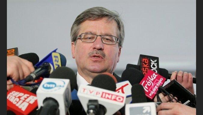 Назначена дата выборов президента Польши