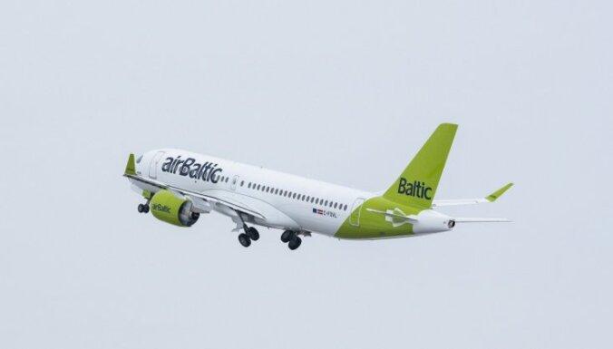 'airBaltic' palielina lidojumu biežumu maršrutā Rīga-Tbilisi