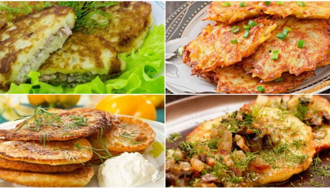 'Tasty' TOP 10: lasītāju iecienītākās kartupeļu pankūku receptes