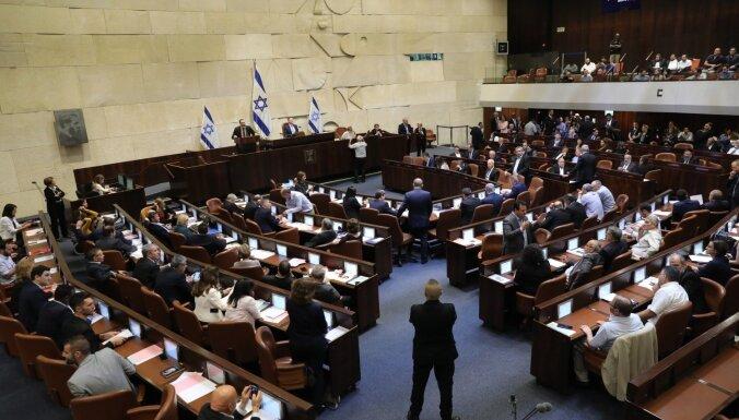 Izraēlas Knesets nobalso par savu atlaišanu