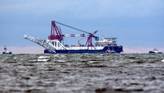 ASV pieprasa uzņēmumiem pārtraukt darbu 'Nord Stream 2' projektā