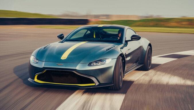 'Aston Martin' vēlas kļūt par 'britu Ferrari'