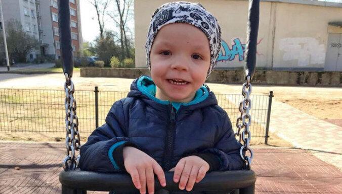 Родители трехлетнего Мирона просят помочь собрать средства на курс реабилитации
