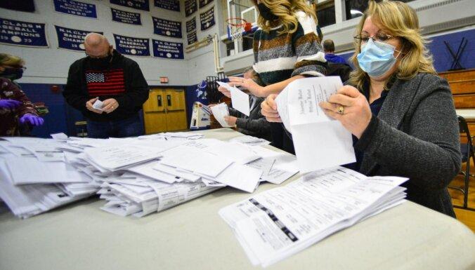 Джорджия вручную пересчитает все голоса, отданные на президентских выборах