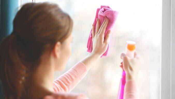 Ielaid mājās pavasari: padomu izlase logu mazgāšanā