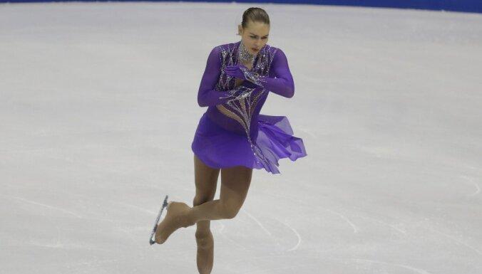 Angelina Kuchvalska of Latvia
