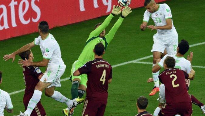 Алжир отправляет Россию домой и впервые в истории выходит в 1/8 финала