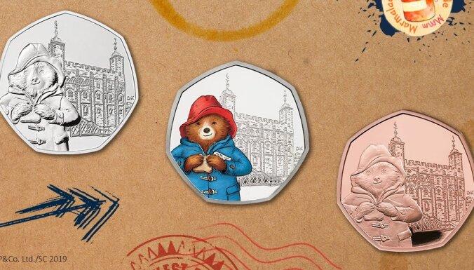 В Британии появились новые монеты с мишкой Паддингтоном