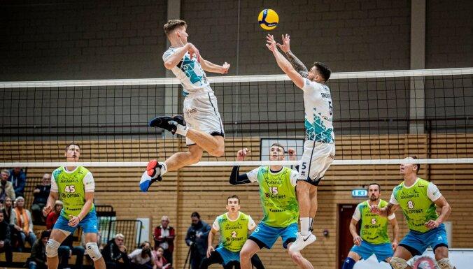Latvijas volejbola grandu duelis: Jēkabpils 'Lūši' – 'RTU Robežsardze/Jūrmala'. Video tiešraide