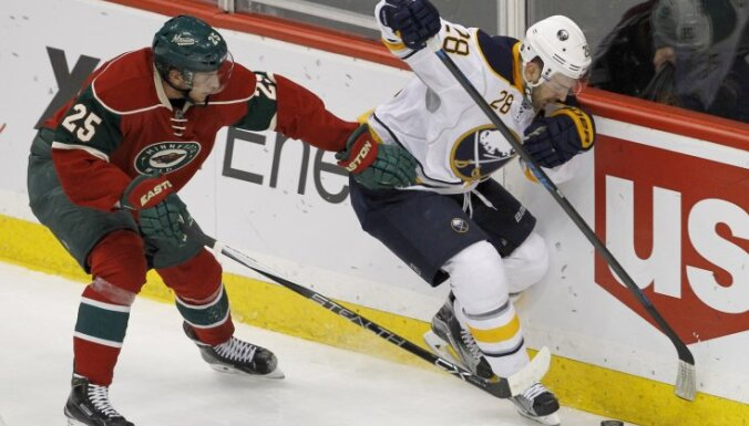 Minnesota Jonas Brodin vs Buffalo Zemgus Girgensons