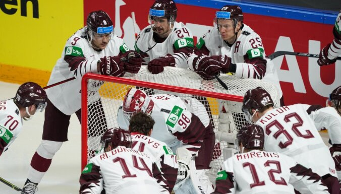 Latvijas hokeja izlase uzzina pretiniekus 2022. gada pasaules čempionātā