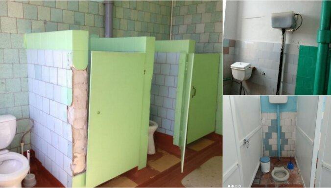Krievijas briesmīgāko tualešu konkursā uzvar uzreiz sešas skolas