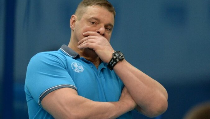 Zenit-Kazan head coach Vladimir Alekno