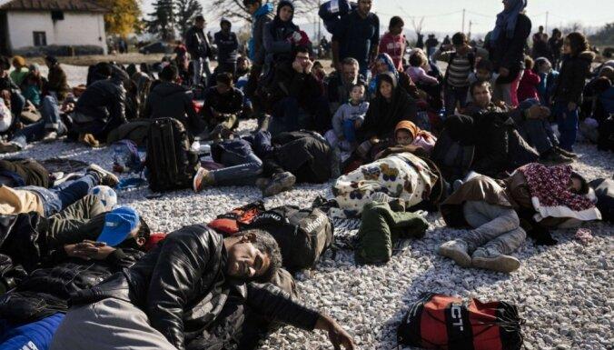 Maķedonijas prezidents: pēc Austrijas imigrantu kvotu sasniegšanas Balkānu ceļš tiks slēgts