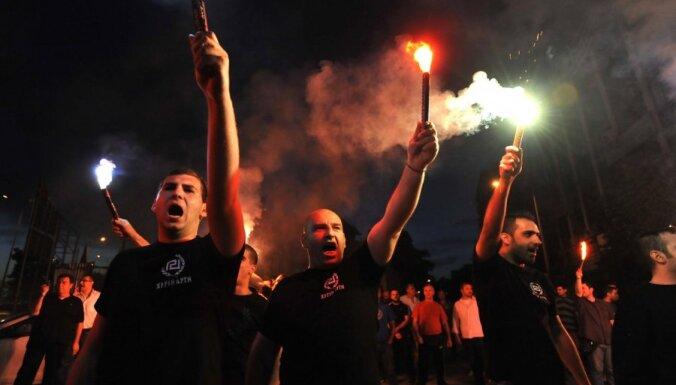 В Афинах застрелили двух членов ультраправой партии