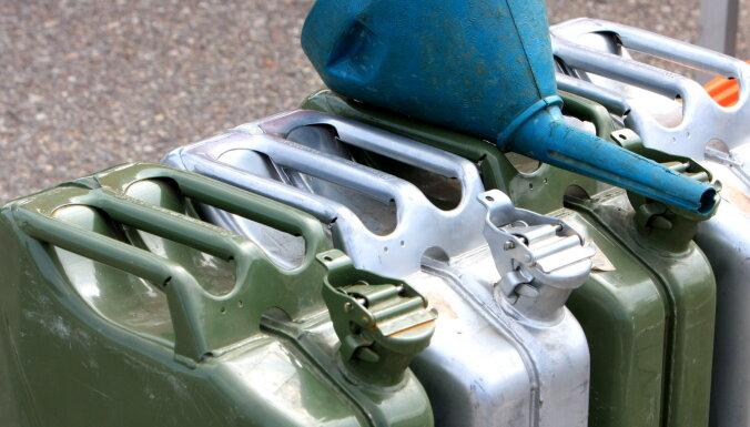 В Даугавпилсе изъято более трех тонн дизельного топлива