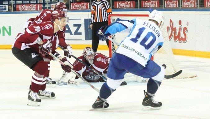 "Rīgas ""Dinamo"" - Minskas ""Dinamo"""
