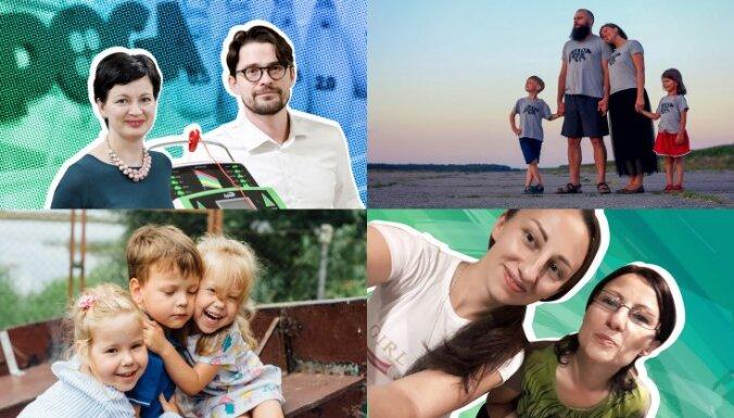 12 stāsti par īpašiem bērniem un drosmīgiem vecākiem, kas iedvesmoja šogad
