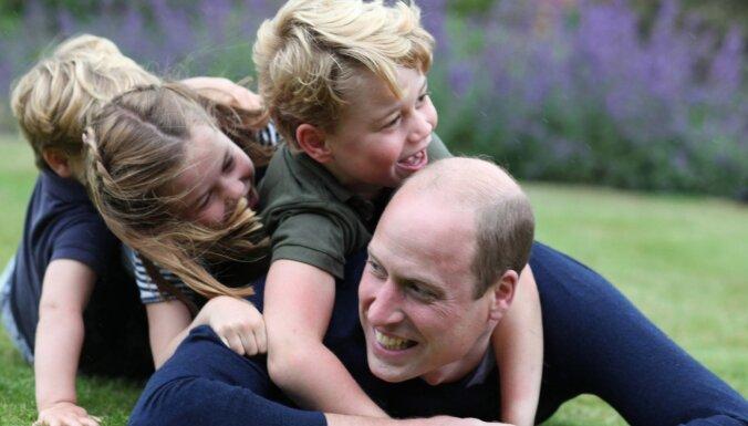 Foto: Princis Viljamss ģimeniski nosvin savu 38. dzimšanas dienu