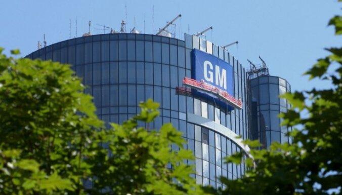 'General Motors' ASV atsauc 3,4 miljonus automobiļu