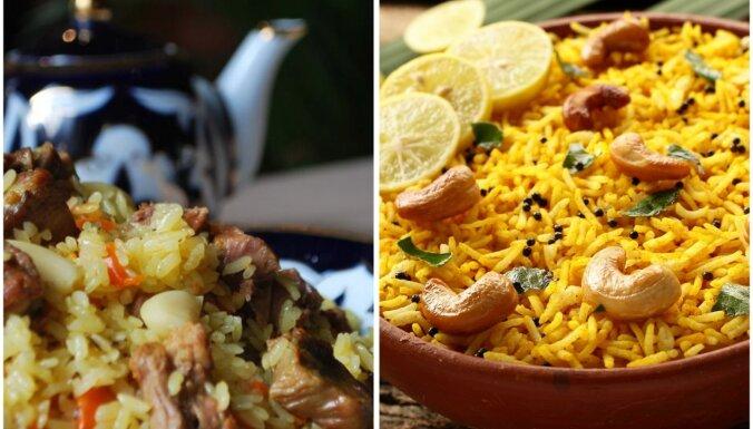 Šodien rīsi, rīt rīsi... Izcilu rīsu ēdienu izlase visai nedēļai