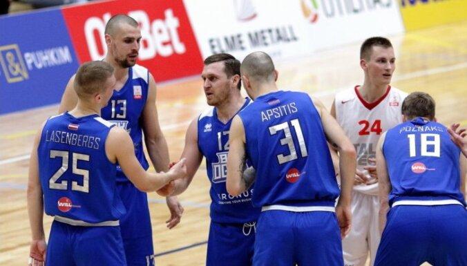 'Ogres' basketbolisti kā pirmie iekļūst 'OlyBet' līgas finālturnīrā