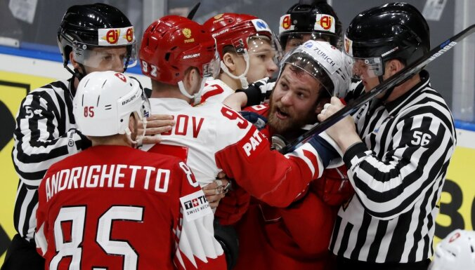 Pasaules hokeja čempionāts: 19. maija spēles. Teksta tiešraides arhīvs