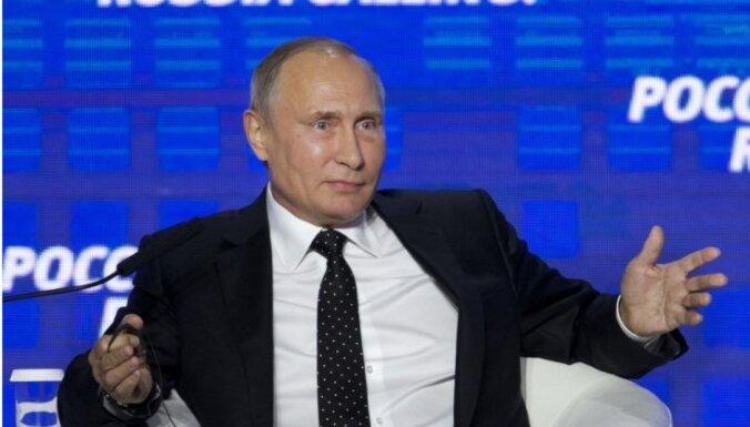 """Журнал Time включил Путина в шорт-лист рейтинга """"Человек года"""""""