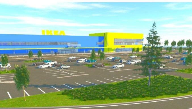 Noslēdz līgumu par 'Ikea' veikala būvniecību Igaunijā