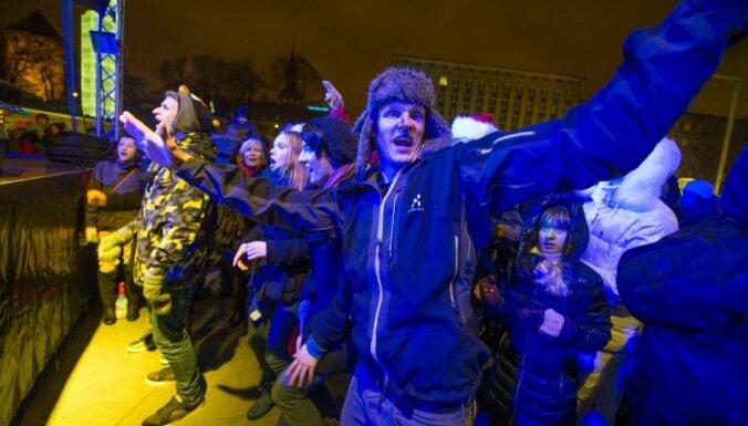 Fotoreportāža: 2013.gada sagaidīšana Tallinā