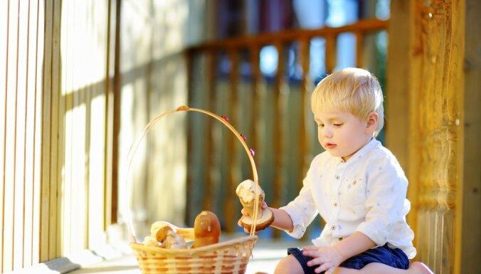 Bērna uzturs un sēnes: drīkst, bet ar mēru